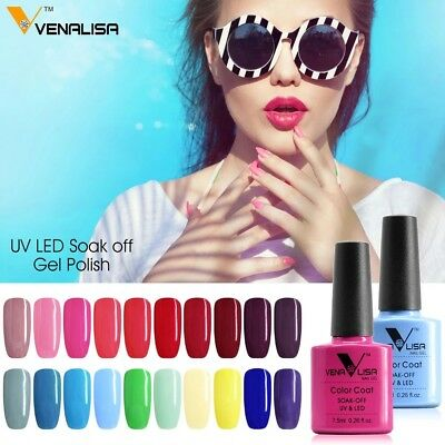 CANNI Venalisa Nail Gel Art Design Manicure 7.5Ml Soak Off Enamel Polish LED UV 5