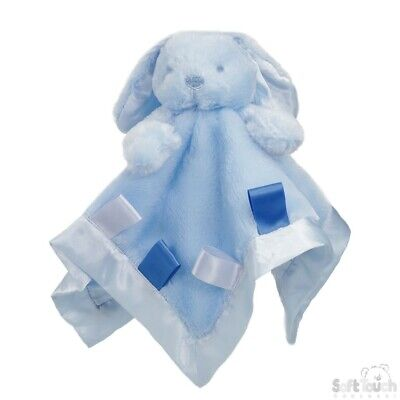 Personalised  embroidered BABY WAFFLE BLANKET gift set 3 color SUPER SOFT bunny 4
