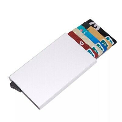 Men Credit Card Holder RFID Blocking ID Card Case Slim Money Travel Wallet Gift 9