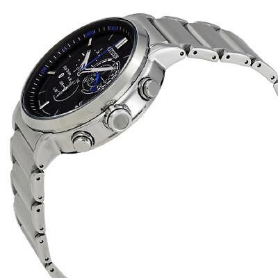 Citizen Eco-Drive Men's Proximity Bluetooth Silver-Tone 46mm Watch BZ1000-54E 2