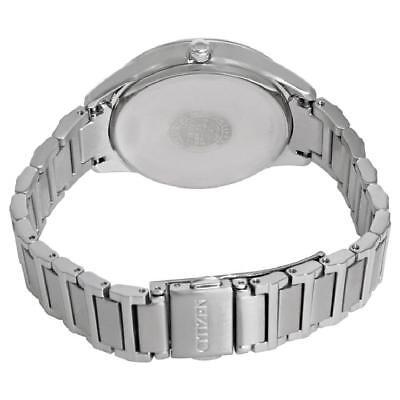 Citizen Eco Drive Women's FE6100-59A Diamond Accents Silver-Tone 37mm Watch 3