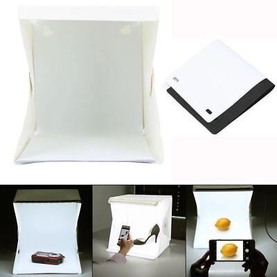Box Foto Fotografico Led Foto Cubo Sfondo Nero Bianco Pieghevole Tenda Fotografi 4