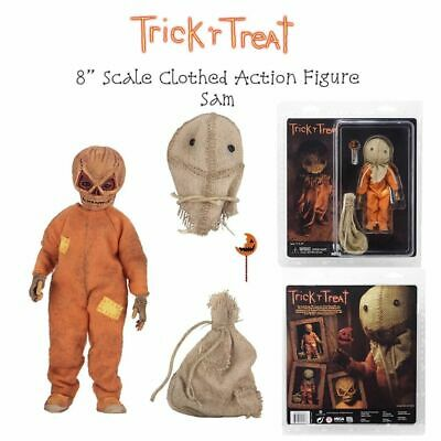 """SAM Trick 'r Treat Movie 8"""" inch Scale 5"""" inch Clothed Action Figure Neca 2019 9"""