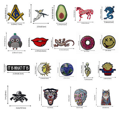 Embroidered Iron Sew On Patches transfers Badges appliques Occult Beetle 715R