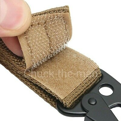 ... Tactical Military Belt Carabiner Key Holder Bag Hook Webbing Buckle Strap Clip 4
