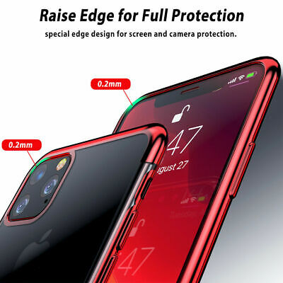 Case for iPhone 11 Pro Max XR XS ShockProof Soft Phone Cover TPU Silicone Cover 3