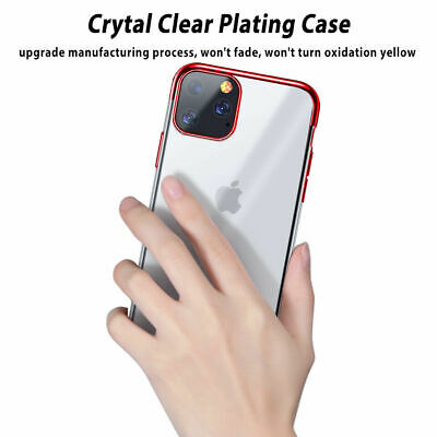 Case for iPhone 11 Pro Max XR XS ShockProof Soft Phone Cover TPU Silicone Cover 5