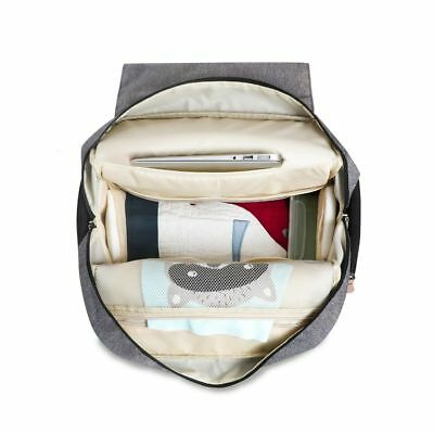 Large LAND Mommy Baby Diaper Bag Backpack with Stroller Hook and Changing Pad 8