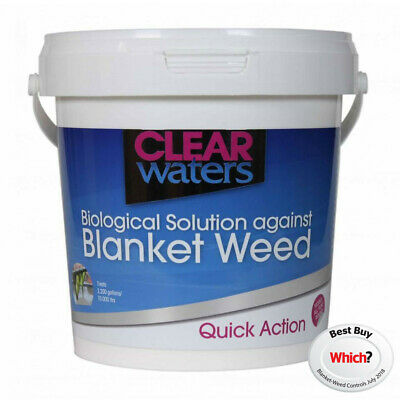 Nishikoi Clear Waters 500g 1L 1.3KG Tub Blanketweed Killer Clearwaters Pond 3