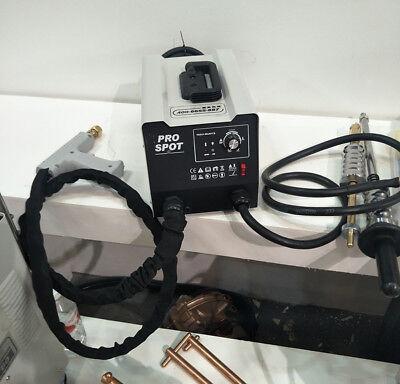 220V Vehicle Panel Spot Puller Dent Spotter Multi-spot Bonnet Door Repair Tool 8