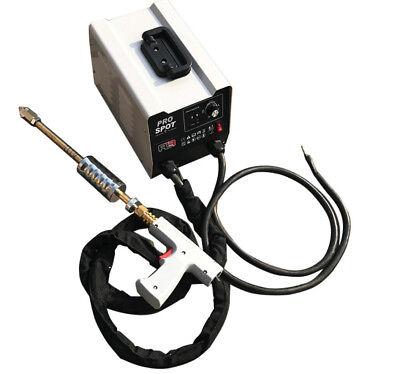 220V Vehicle Panel Spot Puller Dent Spotter Multi-spot Bonnet Door Repair Tool 4