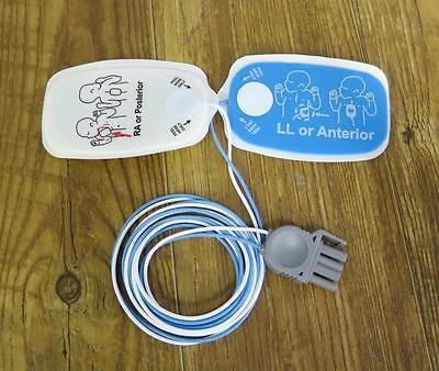 Étui de 10 Physio Contrôle Heartsync Adulte & 10 Pédiatrique Lifepak Électrodes 9