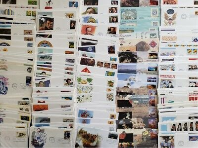 Wholesale Lot 50 US First Day Covers FDC / Cacheted UNADDRESSED Mostly Fleetwood