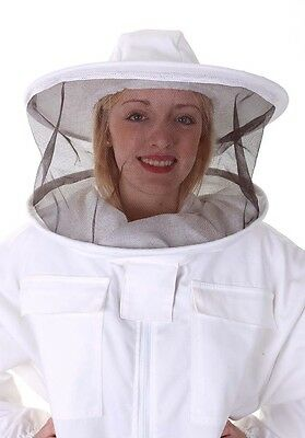 BUZZ Beekeeping bee suit - 3XL with round hat and twin hoop veil 4