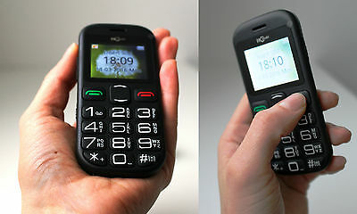 Senior Old People Mobile Phone Big Dial Buttons Ideal Birthday Gift
