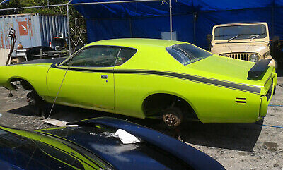 1971 Dodge Charger R//T Side Stripe kit fits 1972 also