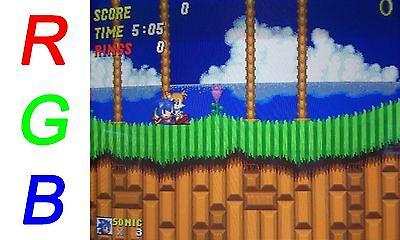 Female RGB Euro SCART to 4 BNC + Audio Cable Sony PVM Sega Genesis SNES Neo Geo 3