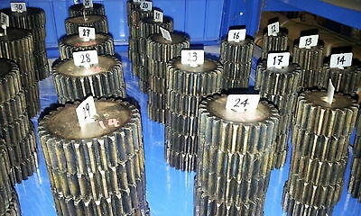 Zahnrad , Mold3, Modul3 , Zähnezahl 45 , Material C45 ETZR-M3-45