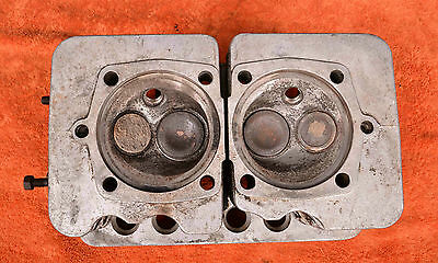 PORSCHE 356 A pre-A 356A Cylinder Heads Zylinderkoepfe Culasse Testata  Cilindri