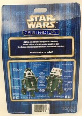 Disney Parks Star Wars The Last Jedi Droid Factory R4-X2 & Y5-X2 2