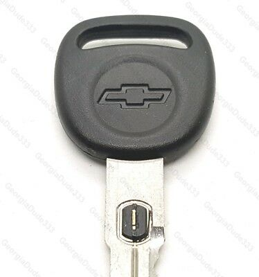 New Corvette Style Big Head GM Double Sided Vats Ignition Chevy Key w// Chip #11