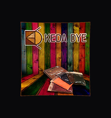 Guitar Dye Kit by Keda Dye Has 5 Guitar Pigment Colors - Stain Guitar Finishes 11