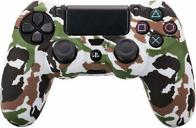 Camo Silicone Rubber Skin Case Gel Cover Grip for Playstation 4 PS4 Controller 6