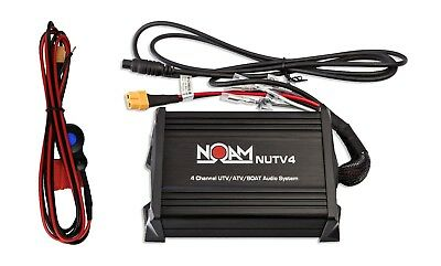 Noam NUTV4 - Marine Bluetooth Rzr Canam Atv Golf Cart Utv Speakers Stereo System 3