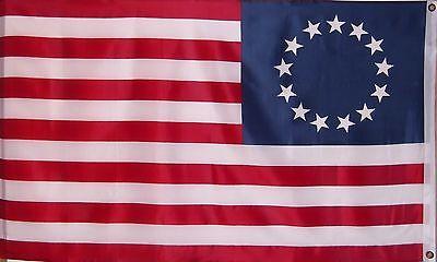 Betsy Ross Patriotic Usa Historical Flag - 1776 - Patriot - American Revolution 2