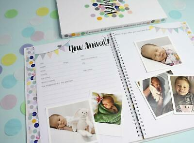 NEW Rhicreative Special Edition Baby Book Gift Keepsake Photo Memories & Firsts 5