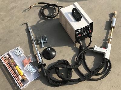 220V Vehicle Panel Spot Puller Dent Spotter Multi-spot Bonnet Door Repair Tool 3