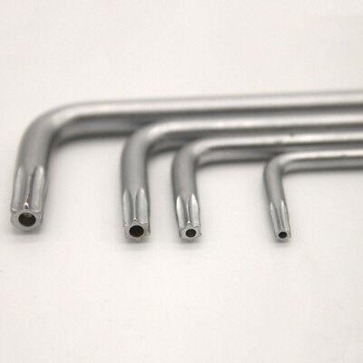 New Pin in Torx Security Screw Key Wrench 6-lobe Pin Key Wrench Steel L Type 4