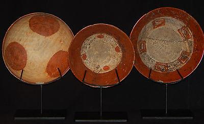 Pre-Columbian Chupicuaro Bowls, Set of 3, Authentic Mesoamerica 2