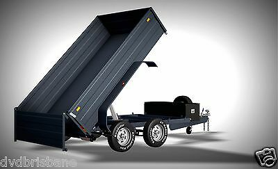 Trailer Plans - 3400kg HYDRAULIC TIPPING TRAILER PLANS - 10x6ft- PLANS ON CD-ROM 2
