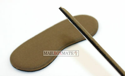 Extra Sticky Fabric Shoe Heel Inserts Insoles Pads Cushion Grips Strong Comfy 4