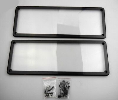Number Plate Cover Surrounds - Waterfroof Standard Size Vic / Wa Plates