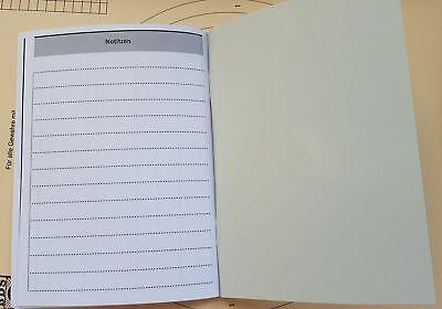 3 Stück SCHIEßBUCH für Sportschützen genormt Behördennachweis DIN A6  PORTOFREI
