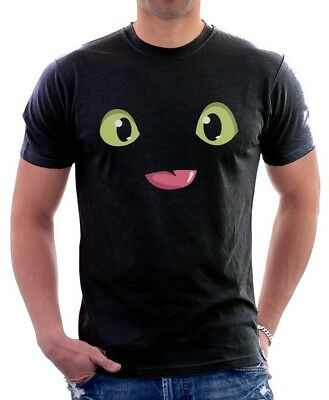 HTTYD How To Train Your Dragon Black printed cotton t-shirt FN9678 2
