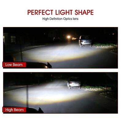 DOT Pair 7 Inch CREE LED Headlights Halo Angle Eye For Jeep Wrangler JK TJ CJ LJ 8