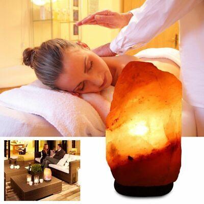 Himalayan Salt Lamp Natural Crystal Rock Shape Dimmer Switch Night Light 1-5 kg 4