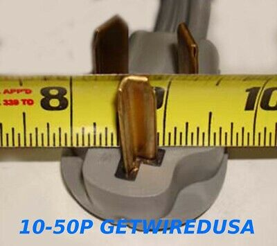 NEW FEMALE 14-30R 4PRONG RECEPTACLE to OLD MALE 10-30P 3PIN PLUG DRYER CONVERTER 2