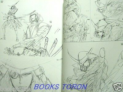 TV ANIME SENGOKU BASARA Series Original Illustrations /Japanese Art Book
