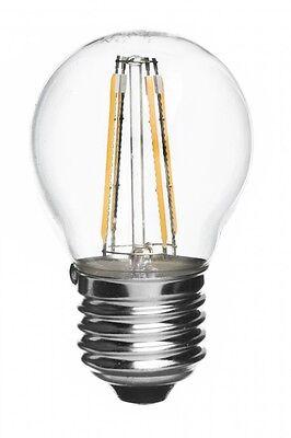 Catena Luminosa LED Catenaria Esterno IP65 E27 Metri a Scelta con Lampadine LED 4