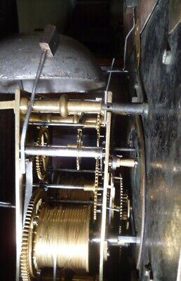 "Antique Mahogany "" Bourton ""  Automation  Dial Grandfather / Longcase Clock 9"