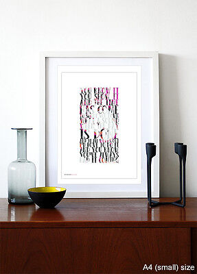 THE STONE ROSES ❤ Shoot You Down ❤ lyrics poster art edition print in 5sizes #21 2