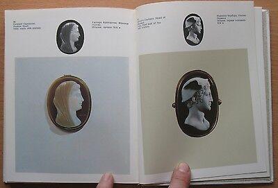 Russian Book Antique Cameo Art Old Miniature Portrait Stone Vintage European VTG 8