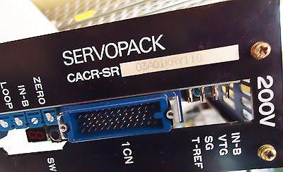 Yaskawa Electric Servopack M/N Cacr-Sr03Ad1Kry110 200V Made In Japan S/N 783520- 2