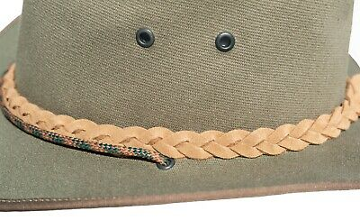 Canvas Hat Tracker Aussie Style Finest Quality Crafted in South Africa Canvas
