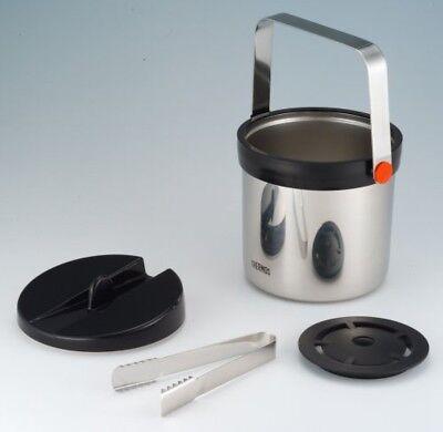 NEUF THERMOS JIN-1300-SBK isolants sous vide Seau à glace 1.3 l Inoxydable Noir