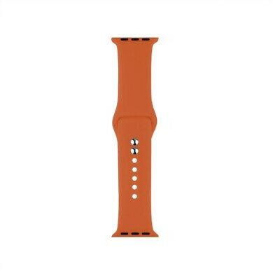 Cinturino Bracciale Silicone Sport Band per Apple Watch 40mm 44mm 38mm 42mm 6